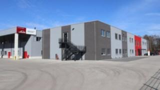 Die Firmenzentrale von Linde Material Handling Rhein-Ruhr in Essen