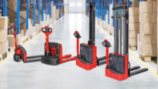 Linde Light Range in Lagerhalle