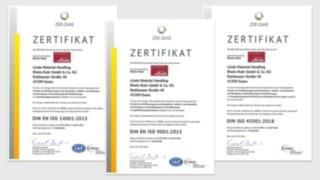 ISO-Zertifizierung 2021 LMH-RR